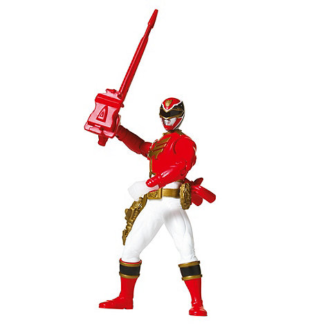 Power Rangers - 15cm Feature Figure - Red Ranger