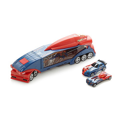 Spider-man - Web trailer truck and car