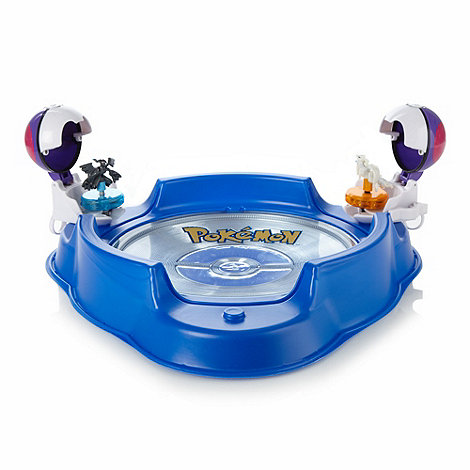 Pokemon - Battle Stage and Poke Ball Twister Figures