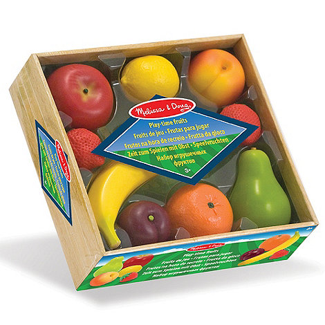 Melissa & Doug - Play Time Fruits Set