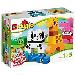 LEGO - DUPLO Creative and Learning Play Creative Animals - 10573