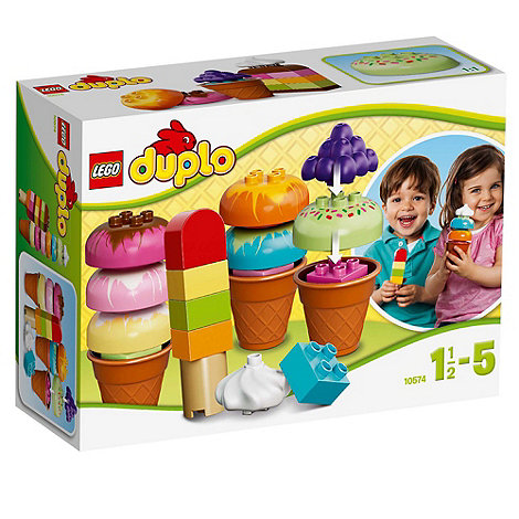 LEGO - DUPLO Creative and Learning Play Creative Ice Cream - 10574