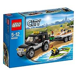 Lego - City Great Vehicles SUV with Watercraft - 60058