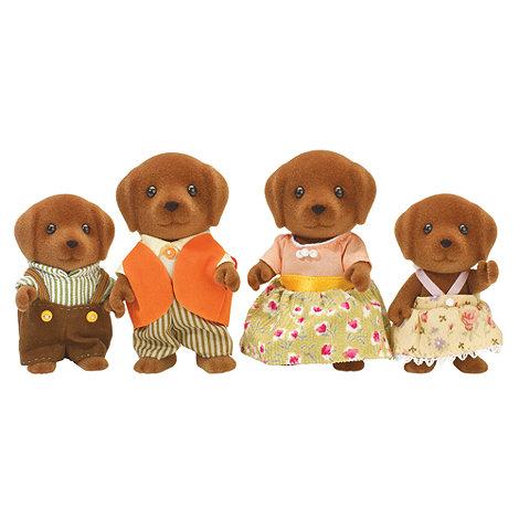Sylvanian Families - Chocolate Labrador Family