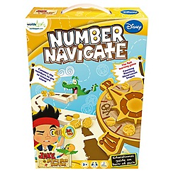 Jake & The Neverland Pirates - Number Navigate Pre-School Game