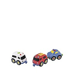 Early Learning Centre - Emergency vehicle magnetic trio set