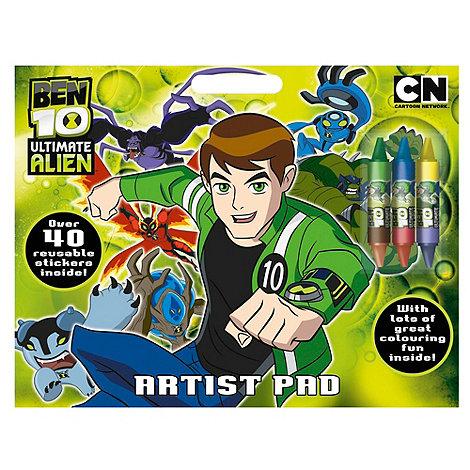 Ben 10 - 10 artist pad