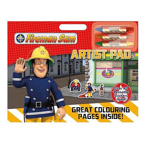 Fireman Sam - Artist pad