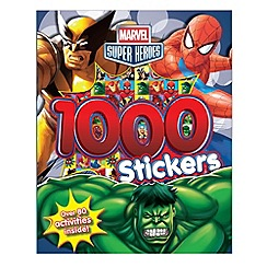 Marvel - Super Heroes 1000 stickers book