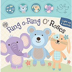 Parragon - Little Learners Light and Sound Board Book Ring a Ring o Roses