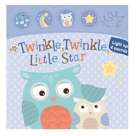 Parragon - Little Learners Light and Sound Board Book Twinkle Twinkle
