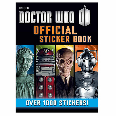 Doctor Who - Official Sticker Book