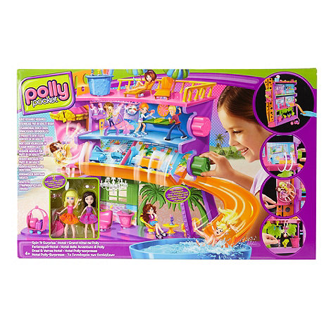 Polly Pocket - Spin and Surprise hotel