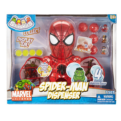 Squinkies - Spiderman dispenser
