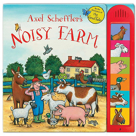 MacMillan books - Axel Scheffler+s Noisy Farm