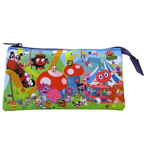 Moshi Monsters - 3 Pocket Pencil Case