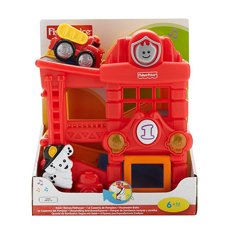 Fisher-Price - Racin+ ramps firehouse