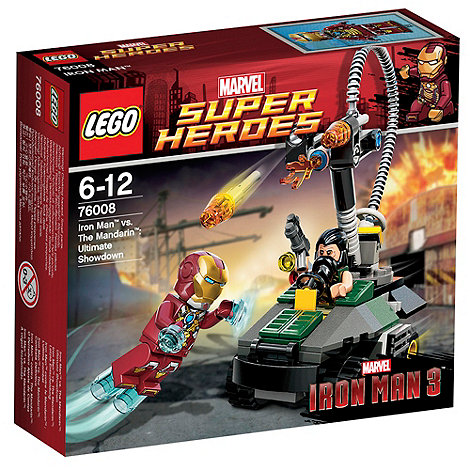 LEGO - Super Heroes Iron Man vs. The Mandarin: Ultimate - 76008