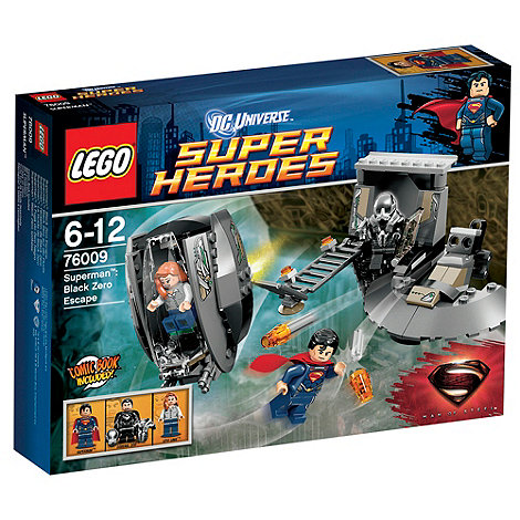 LEGO - DC Super Heroes - Superman: Black Zero Escape - 76009