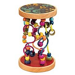 B. - A-Maze Loopty Loo Wooden Bead Frame