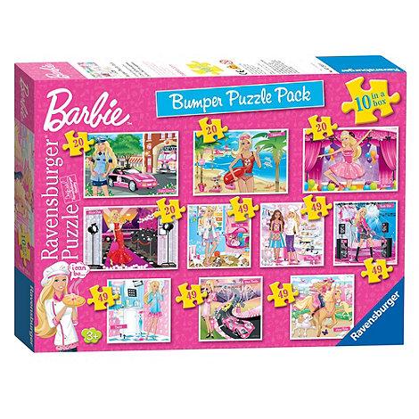 Barbie - Bumper 10 Puzzle Pack