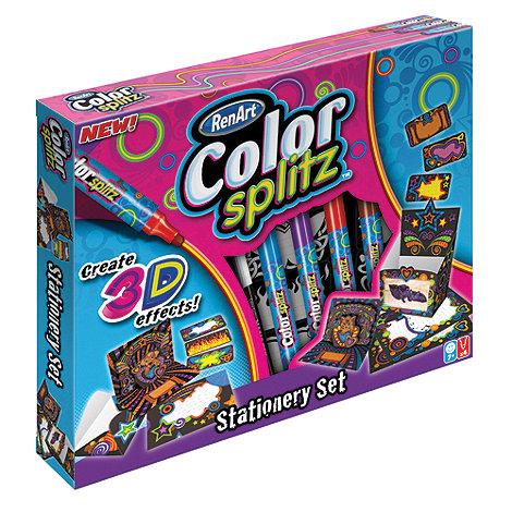 Flair Create - Color Splitz Stationery Set