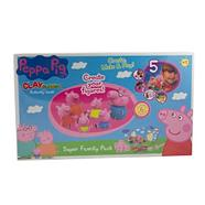Peppa Pig Clay Buddies Super Deluxe Pack