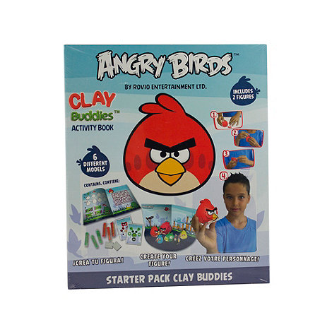Angry Birds - Clay Buddies Starter Pack