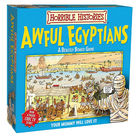 Horrible Histories - Beastly Board Game. Can you become the richest robber?