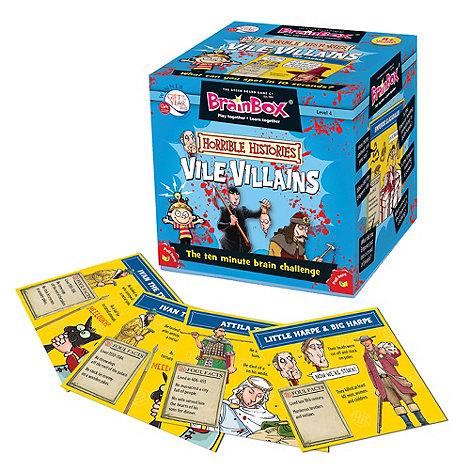 Horrible Histories - BrainBox Vile Villains: The 10 Second Brain Challenge!