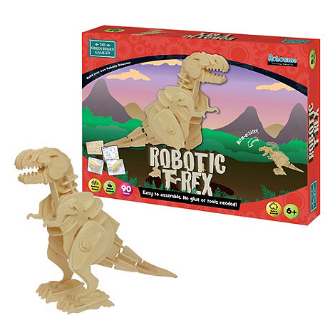 Early Learning Centre - Wooden Robotic T-REX Building Kit