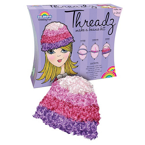Early Learning Centre - Threadz Beanie Hat Kit - Pink