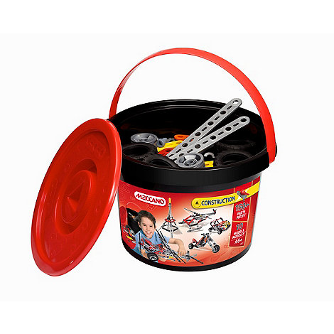 Meccano - Construction bucket - 150 Pieces
