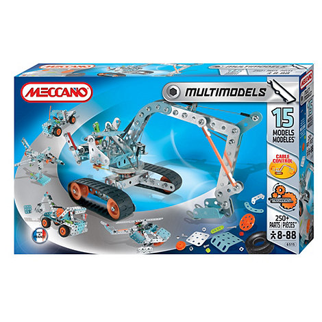 Meccano - Multi Model Set - 15 Models
