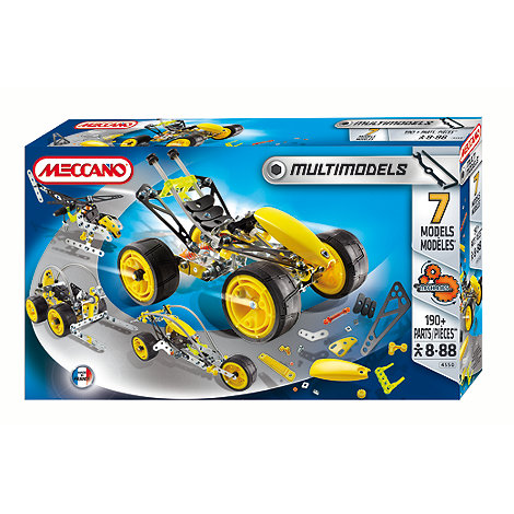 Meccano - Multi Models 7 Models set
