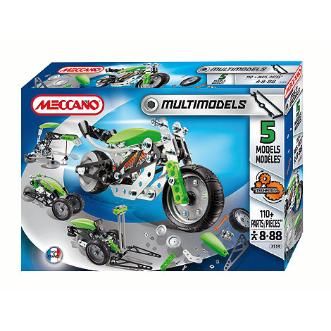 Meccano - Multi Models 5 Models set