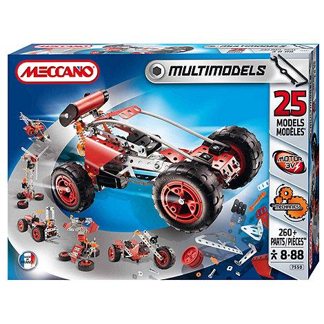 Meccano - Multi Models 25 Models set