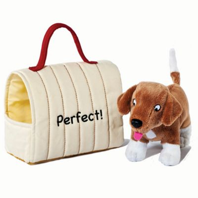 Dear Zoo Plush Dog And Carrier - . -