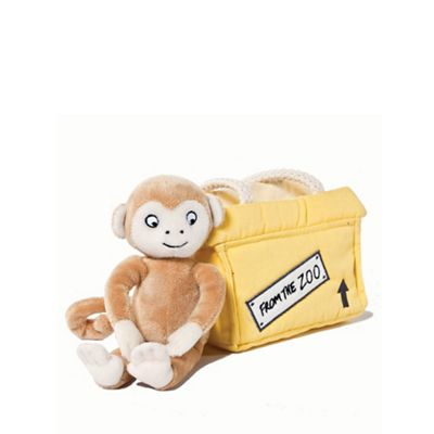 Dear Zoo Plush Monkey And Carrier - . -