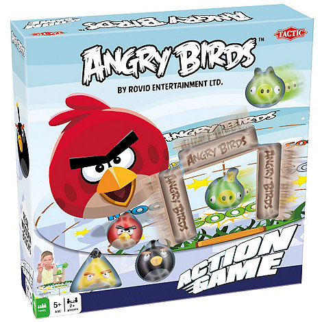 Angry Birds - Classic Table Top Action Game