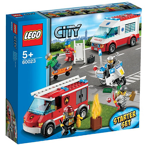 LEGO - City Emergency Vehicle Starter Set - 60023