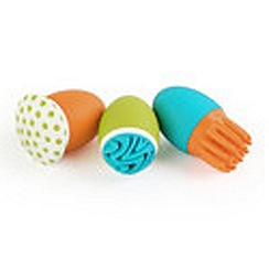 Tomy - Boon Scrubble Bath Toy squirt set