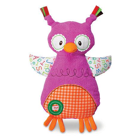 Debenhams - Smarty Kids Owl Cuddly Blanket