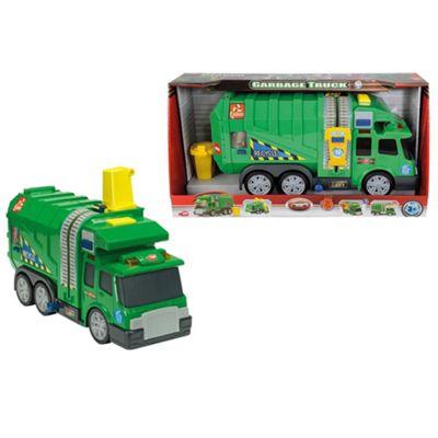 Dickie 39cm Garbage Truck - . -