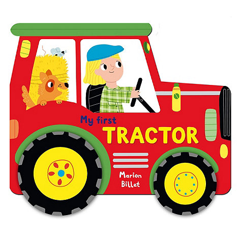 MacMillan books - Whizzy Wheels Tractor Book