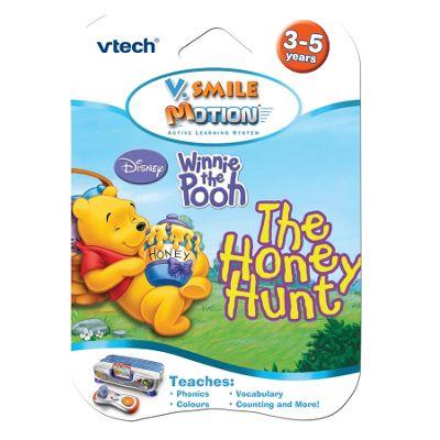 vtech Winnie the Pooh: The Honey Hunt game