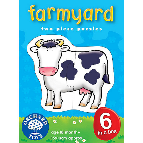 Orchard Toys - Farmyard puzzles