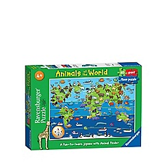 Ravensburger - Animals of the World 60 piece Giant Floor Puzzle