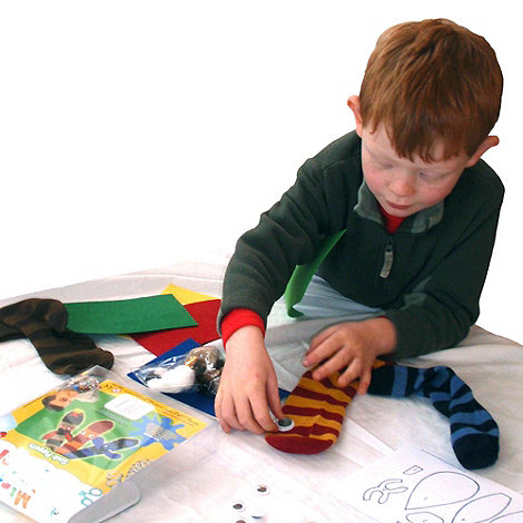 Mister Maker - Sock puppets kit