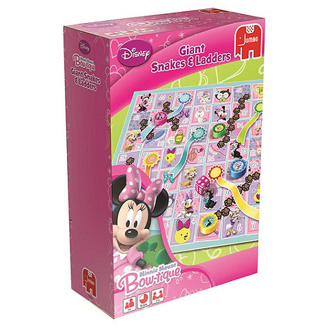 Minnie Mouse Bow-Tique - Giant Snakes & Ladders Floor Game